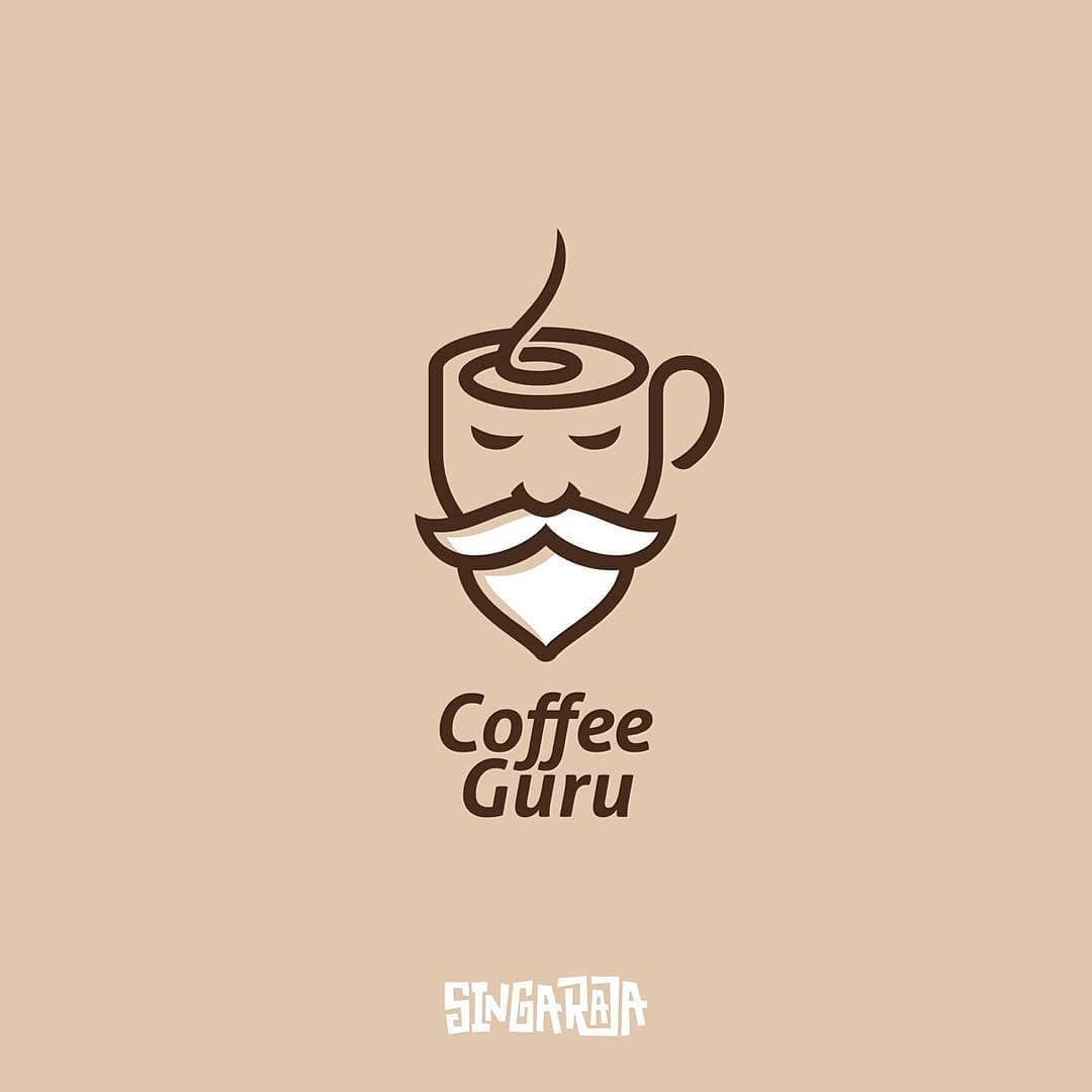 Coffee Mug Logo Design Digital Art Adobe Illustrator Vector File