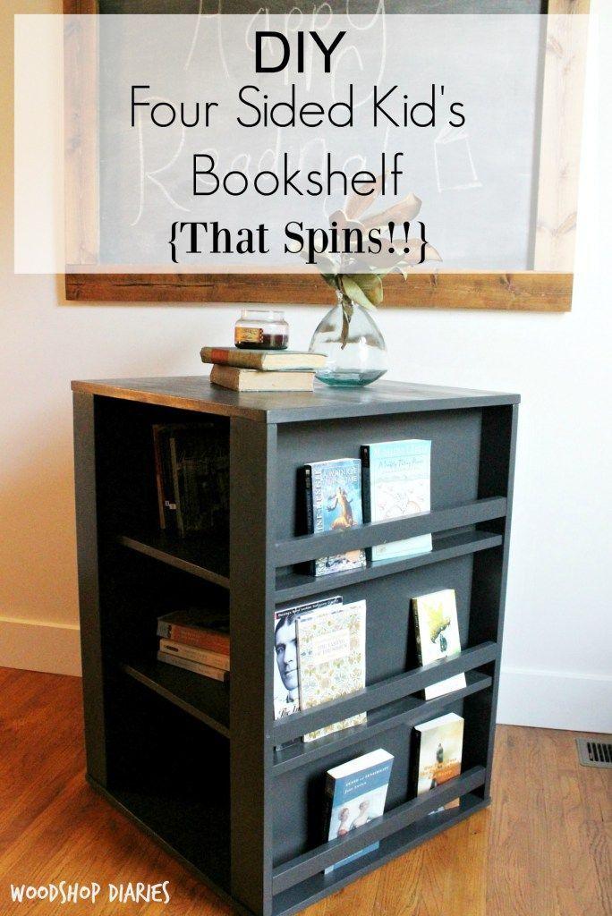 Four sides Kid's Bookshelf