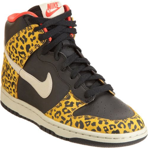 Nike Dunk High Skinny in Black (leopard) I want em cause I d wear em lol 294d9a72b351