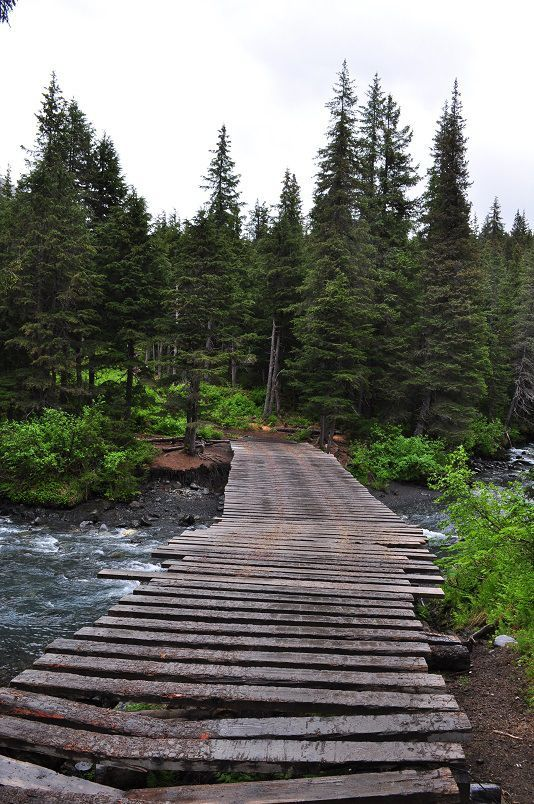 Winner Creek Trail, Girdwood, Alaska. https://ExploreTraveler.com
