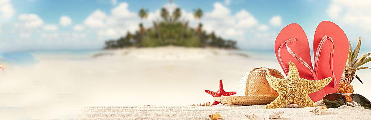 Great flip flop fresh background banner beach starfish for Fresh art photography facebook