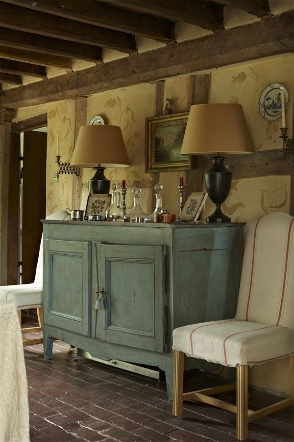 "Photo: Nick Carter for The English Home ""/ like this cabinet 