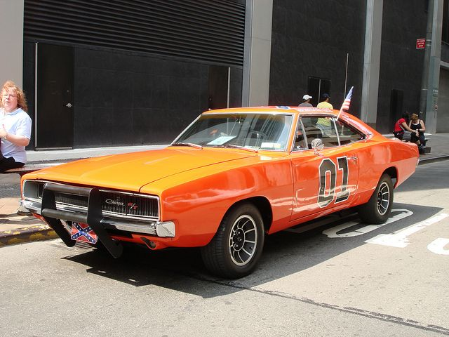 NYC Vintage Police Car Show The General Lee The Dukes Of Hazzard - Classic car show nyc