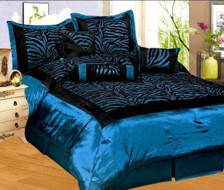 Animal Print Bedding King Size Comforter Sets Pink And Black