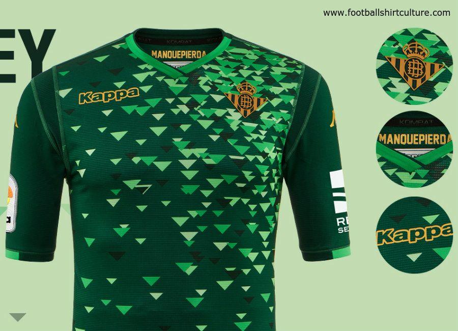 football  soccer  futbol  RealBetis  MuchoBetis Real Betis 2018-19 Kappa aa57ac1579683