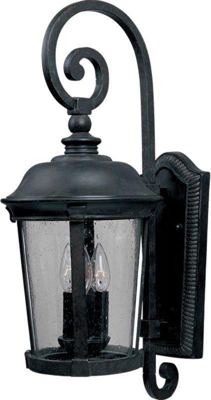 maxim 3025 dover 31 3 light wall sconce bronze seedy glass