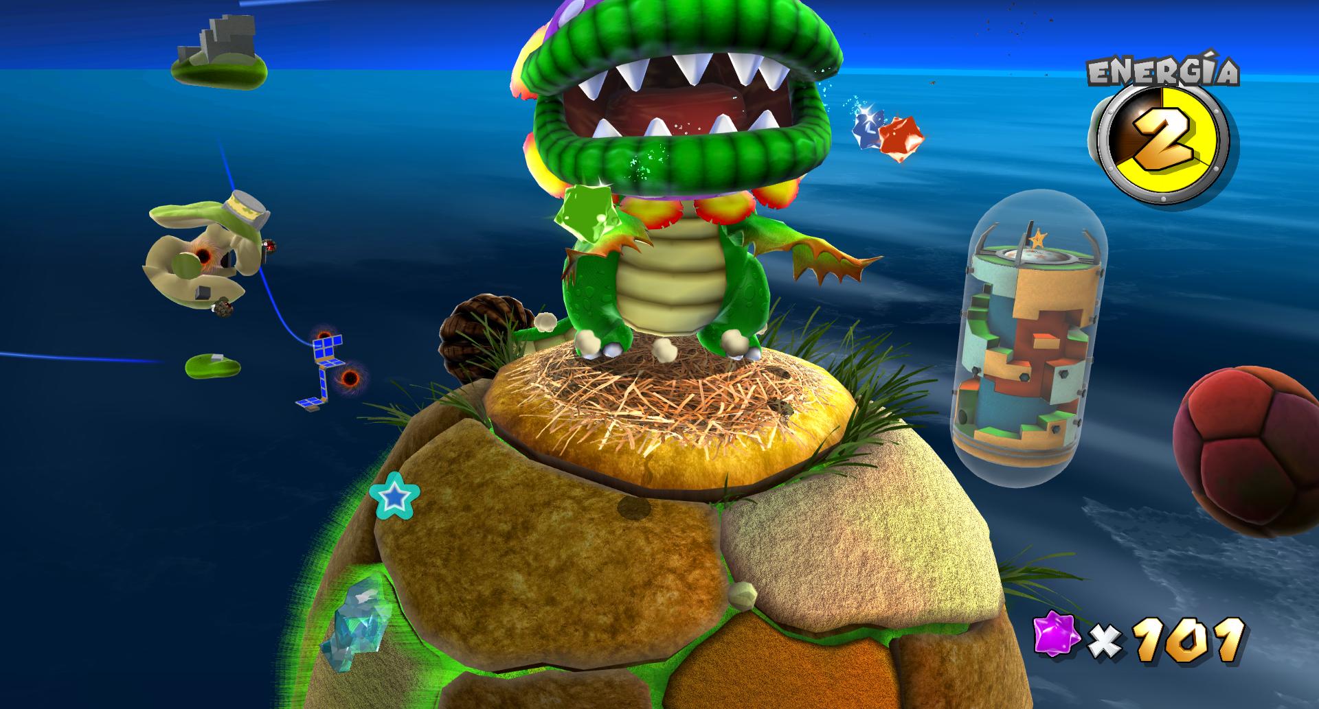 Super Mario Galaxy 1080p Texture Pack  - 01