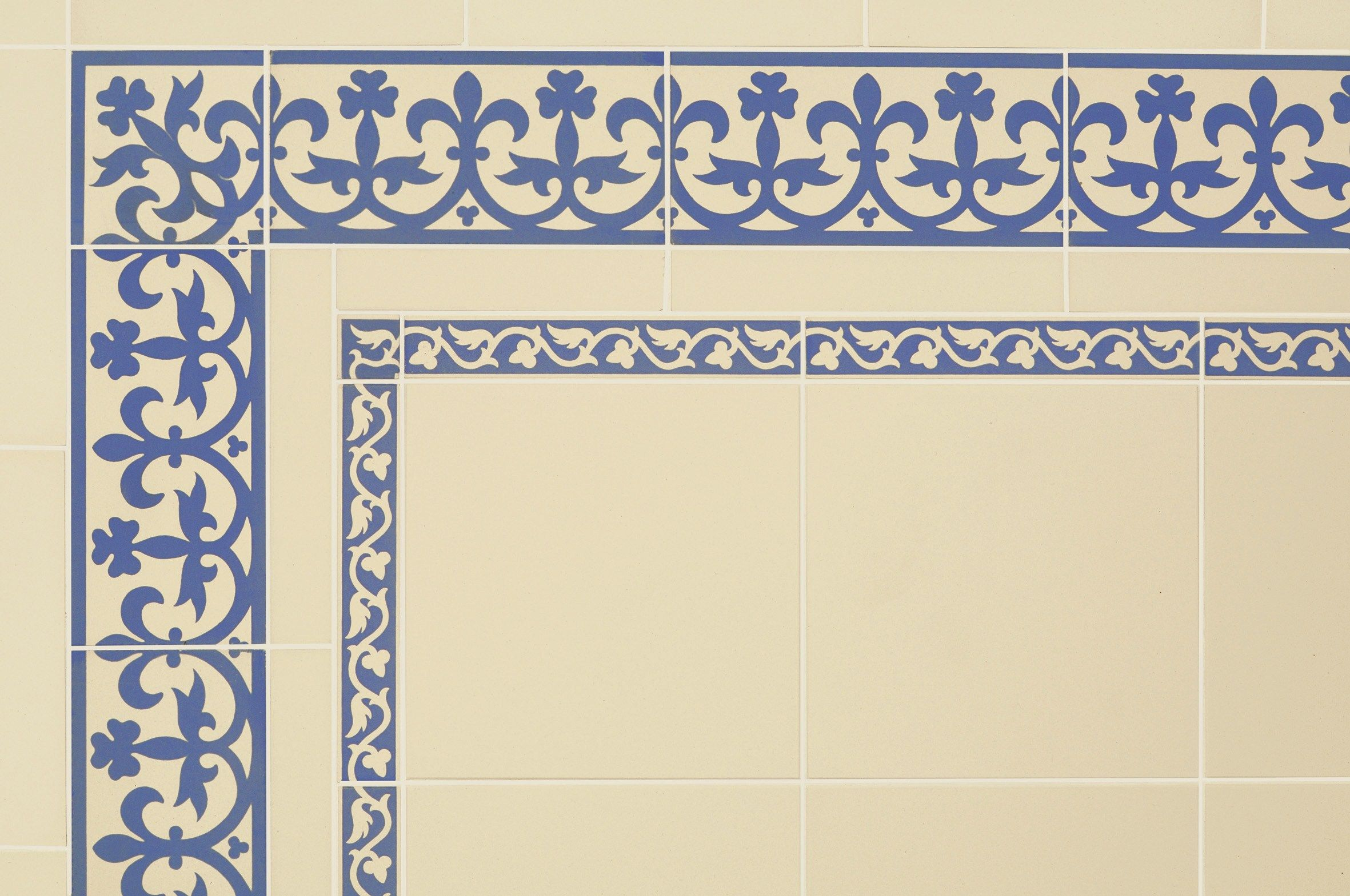 Victorian floor tiles the elgin border offers intricate and original style tiles tile manufacturer and supplier dailygadgetfo Image collections