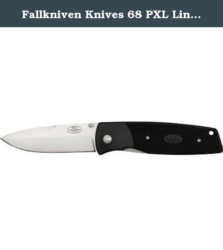 Fallkniven Knives 68 Pxl Linerlock Knife With Black Textured Grilon Handles Fallkniven Pxl Linerlock Model Fn68 4 3 4 Power Hand Tools Knife Pocket Knife