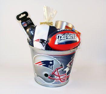 New England Patriots Premier Pail Gift Set | Nicey | Pinterest ...