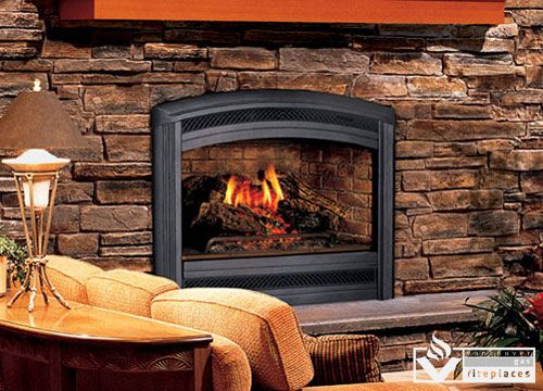 Lennox Spectra Lss35 Lss40 Direct Vent Gas Fireplaces From Vancouver Gas Fireplaces From The Exquisite Arc Direct Vent Gas Fireplace Fireplace Gas Fireplace