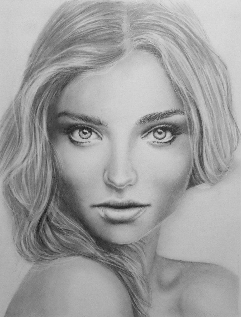 картинки портретов рисунок карандашом подавать вместе
