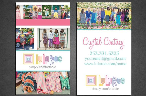 LuLaRoe Business Card, Professionally Printed, Double Sided ...
