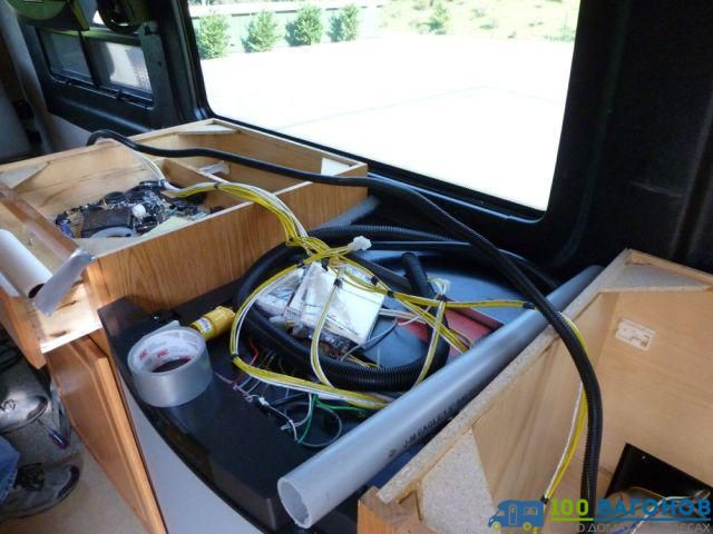 Самостоятельный апгрейд Winnebago ERA 2009 года-37