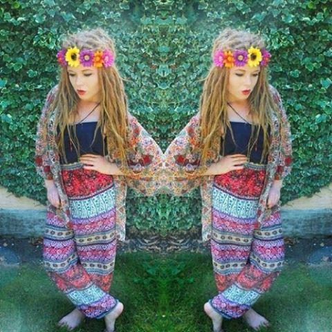 """482 Me gusta, 2 comentarios - Moda Hippie oficial ❤️ (@modahippie.oficial) en Instagram: """"Muito linda!    #ModaHippie #Oficial #Meuestilo #instahippie #Girl #Riponga #Estilo"""""""