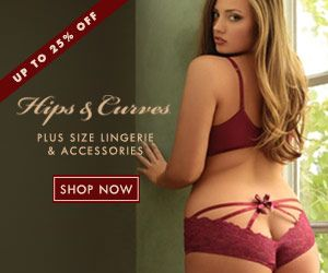 6cd7780cd Shop Hips   Curves for the hottest plus size lingerie at up to 25% off!
