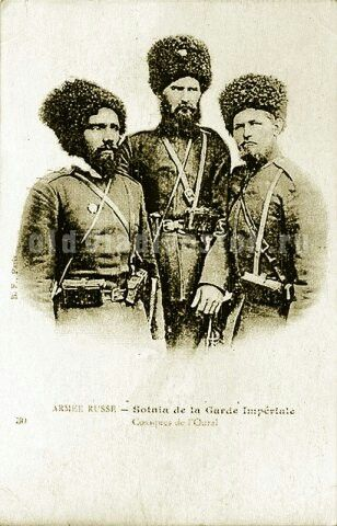 Ural Cossacks Russo Japanese War Cossack Caucasian