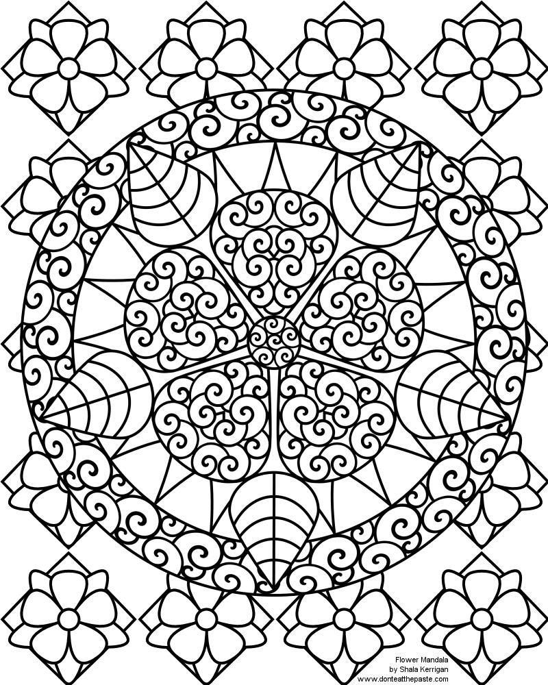 Fun Coloring Pages For 10 Year Old Kids Abstract Coloring Pages
