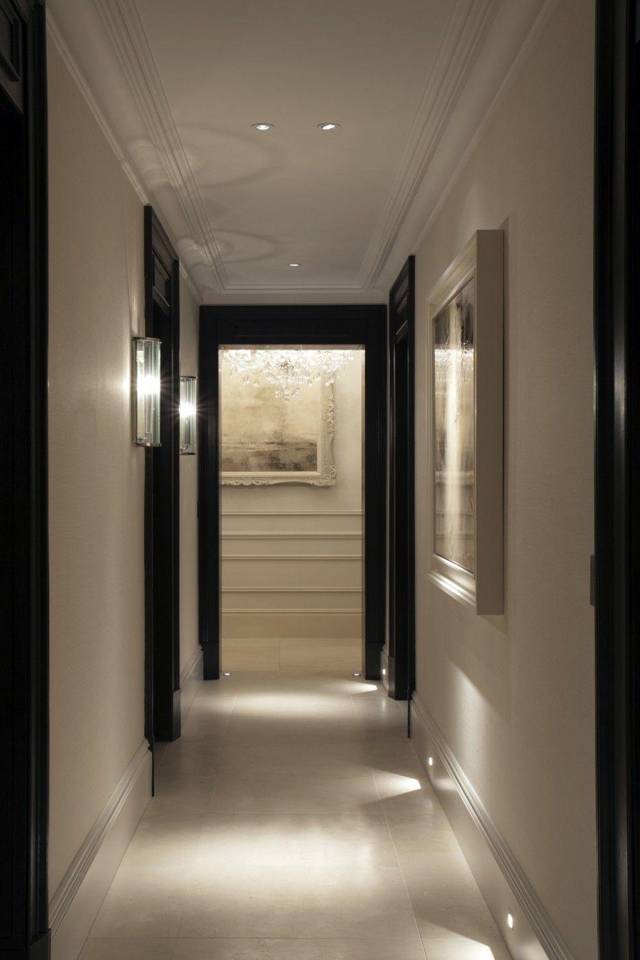 Entry hallway lighting  Ennismore Gardens  Taylor Howes  Town  Pinterest  Hall Hall