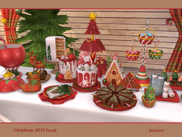 Sims 4 Christmas Update 2020 The Sims Resource: Christmas 2019 Food by soloriya in 2020   Sims