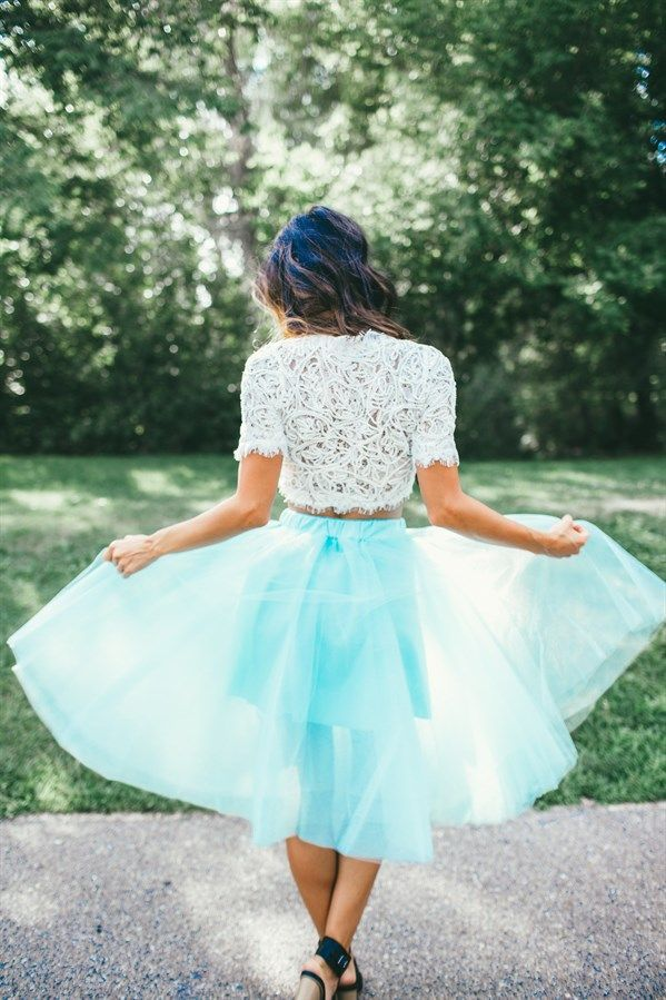 This absolutely Stunning Tulle Skirt is perfect for any special occasion, photos or your Sunday's Best outfit. Customers rave over the high quality tulle. Skirt is lined. Features elastic waist band for easy, comfortable fitting and is knee length.
