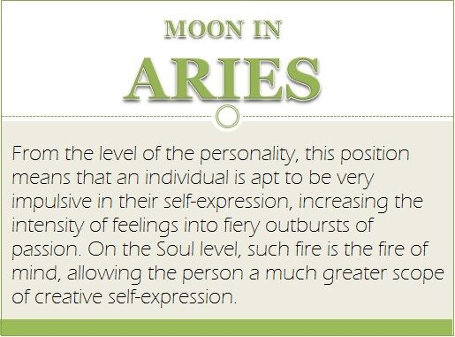 Aries moon   Astrology/Spirituality/witchcraft/numerology