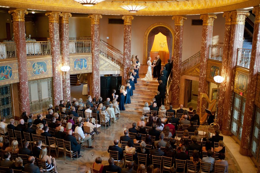 Wedding Ceremony At Severance Hall