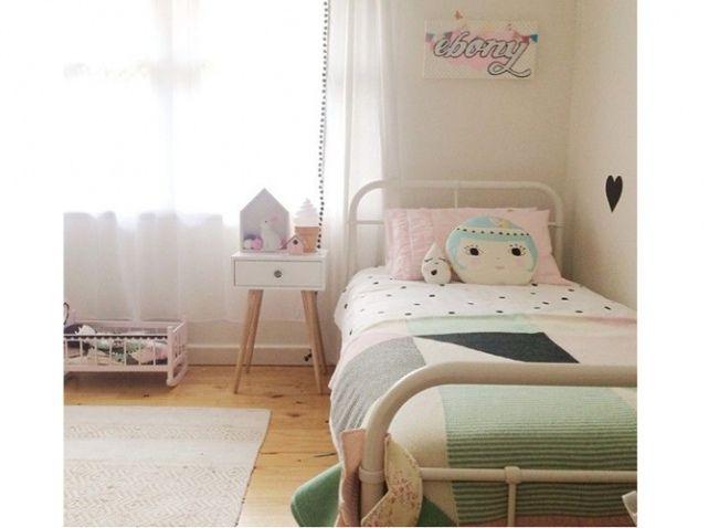 Chambre fille vintage trendy little pinterest | Chambre enfant ...