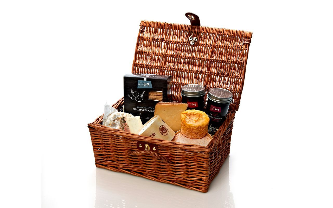Buy The Continental Cheese Gift Hamper at Pong Cheese in