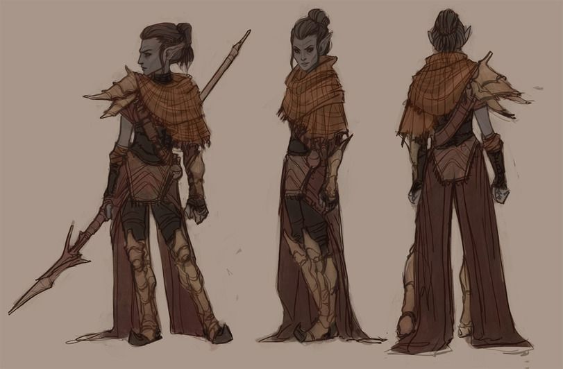 TES art,The Elder Scrolls,фэндомы,Данмер,TES расы,witchingbones