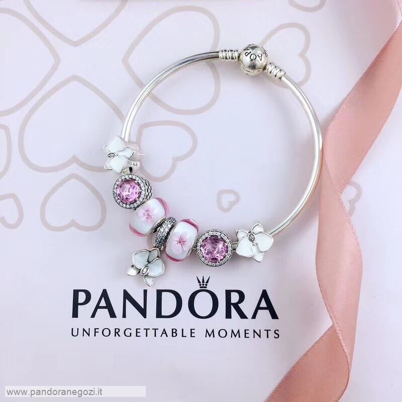 Pandora Outlet Pandora Bracciali Essence_6748 | Bracciali, Collana ...