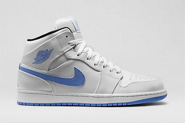 Air Jordan 1 Mid Legend Blue Blue Sneakers Air Jordans Sneakers