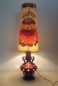 Beautiful 70 S Lamp Retro Lampshade Retro Lamp Lamp