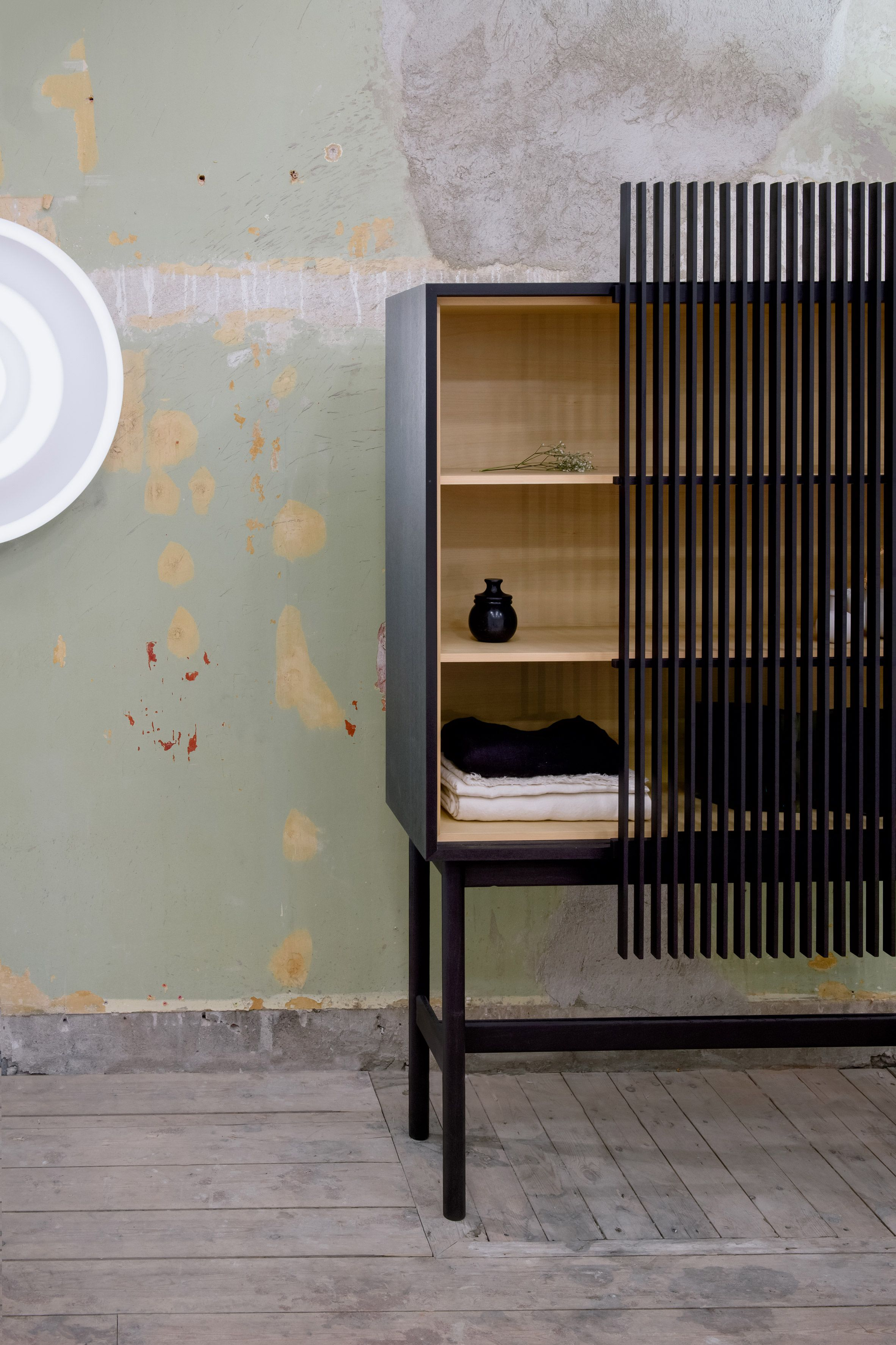 Building japanese furniture Bamboo New Japanese Furniture Producer Ariake Showcased Its Products In Dilapidated Former Embassy Building During Stockholm Design Week 2018 Pinterest New Japanese Furniture Producer Ariake Showcased Its Products In