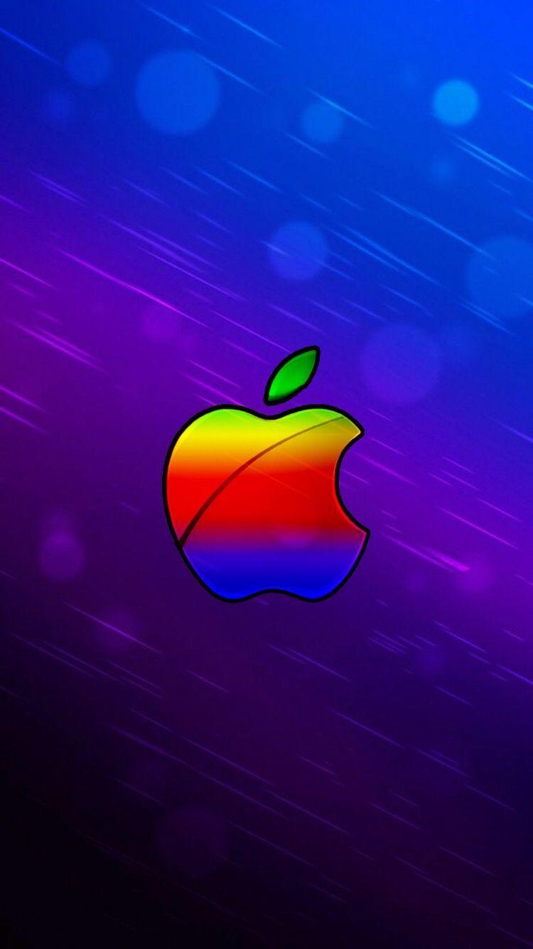 Iphone Xr Wallpaper Apple Logo di 2020
