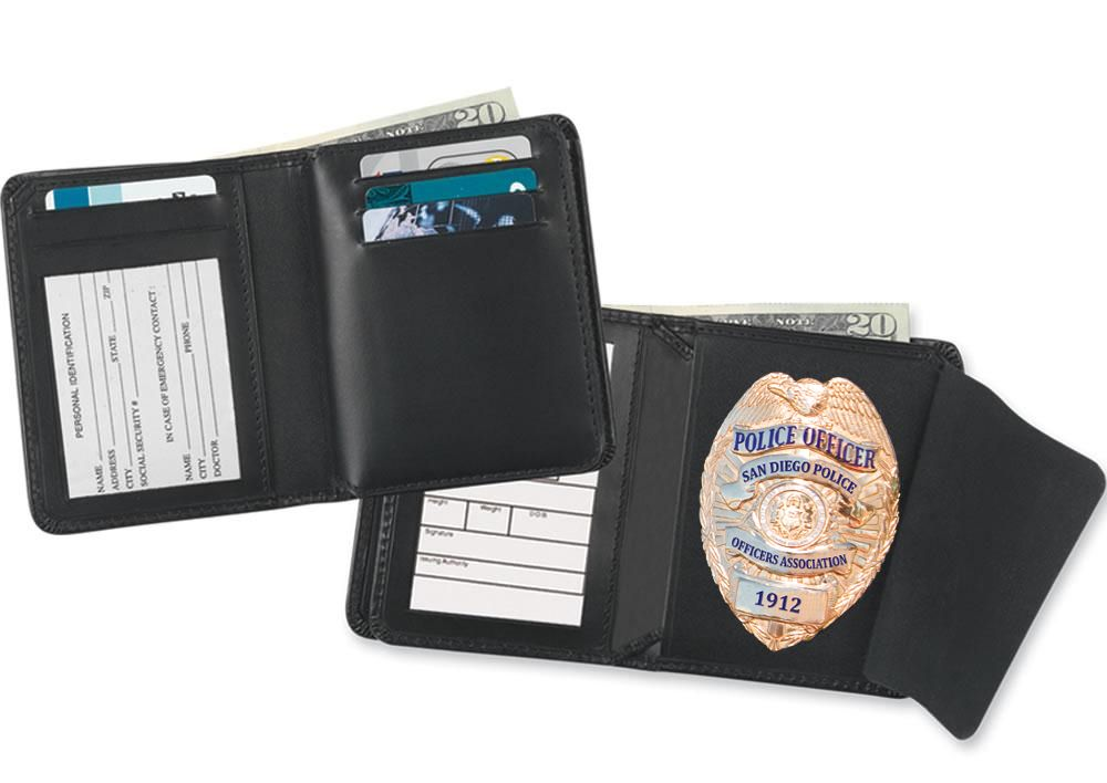 Christmas is on its way!! Check out one of our perfect stocking stuffers that we have for you this Holiday Season. Our new Badge Wallet will make a great gift and it's priced at only $20.00 (plus tax).