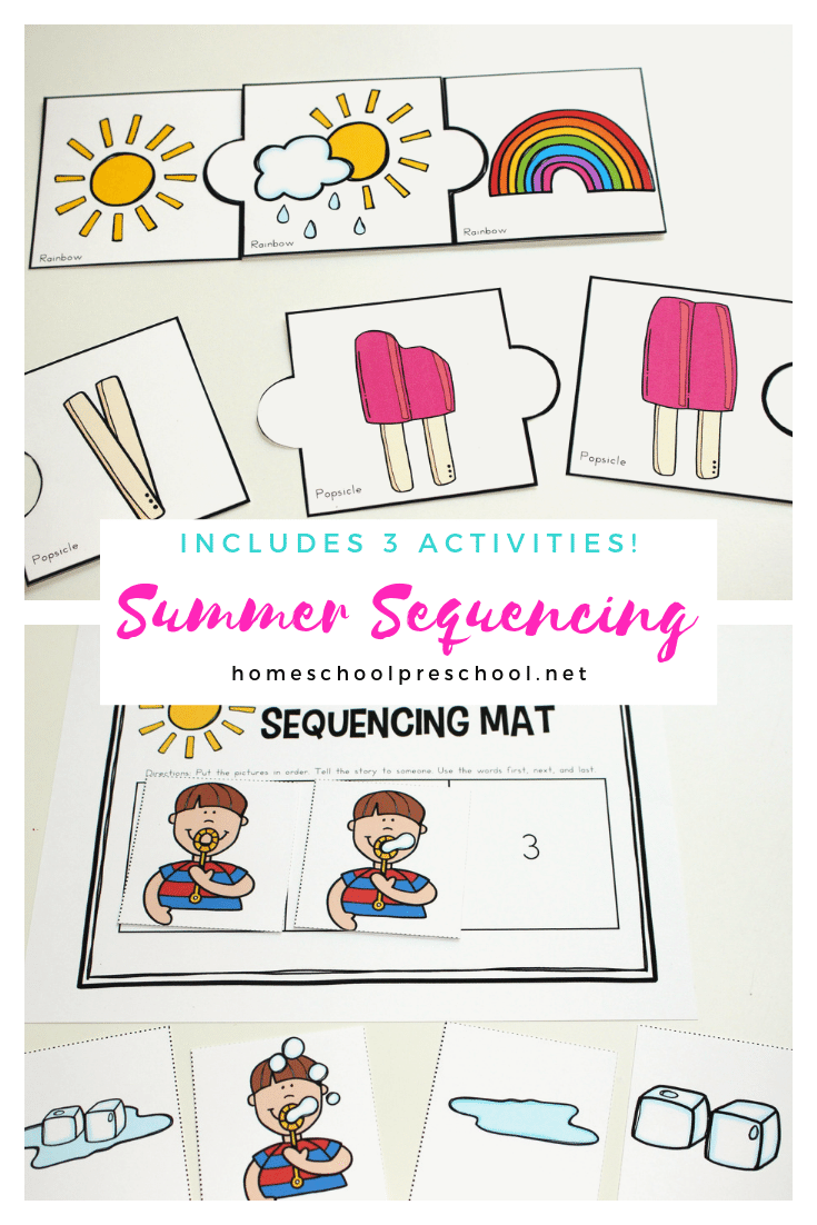 Free Printable Summer Sequencing Cards For Preschoolers Sequencing Cards Sequencing Activities Preschool Activity [ 1102 x 735 Pixel ]