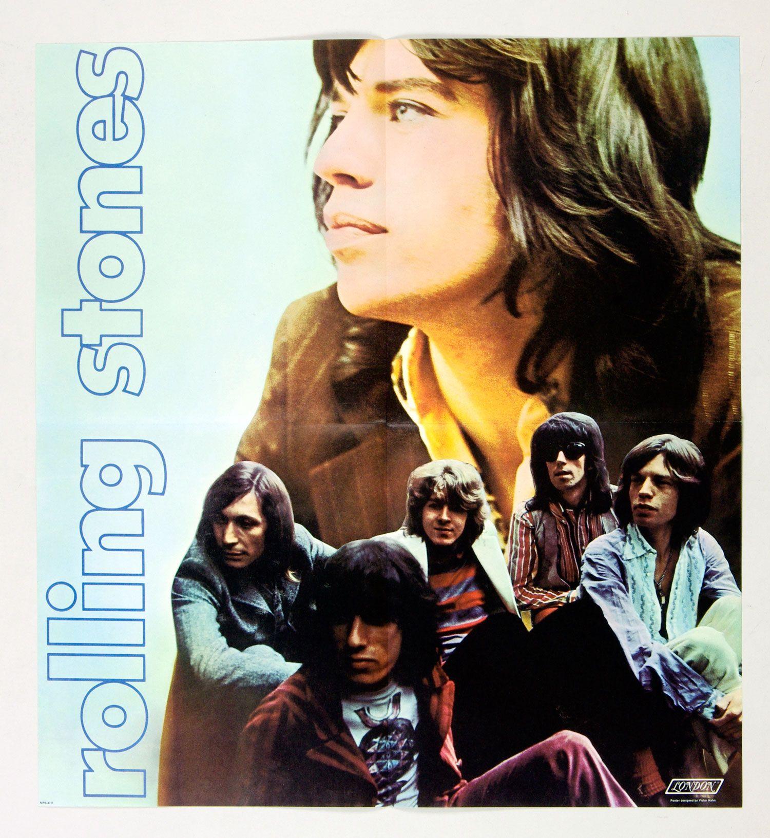 The Rolling Stones Poster 1969 Let It Bleed Album Promo 21 X 23 Rolling Stones Poster Rolling Stones Rolling Stones Album Covers