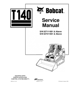 Best download bobcat t140 compact track loader service
