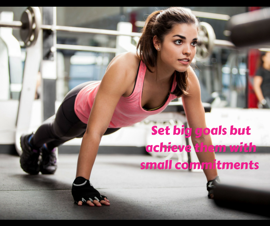 Do You Have Big Health And Fitness Goals For 2018 Awesome Many People Do But Many Of Us Take On Too Much To Workout Exercise Workout Challenge