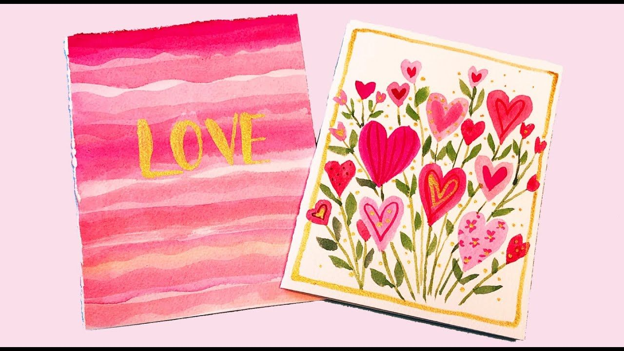 easy diy valentines cards handmade cards in less than 10