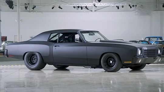 Sinister Looking 1970 Chevrolet Monte Carlo Learn More In 2020