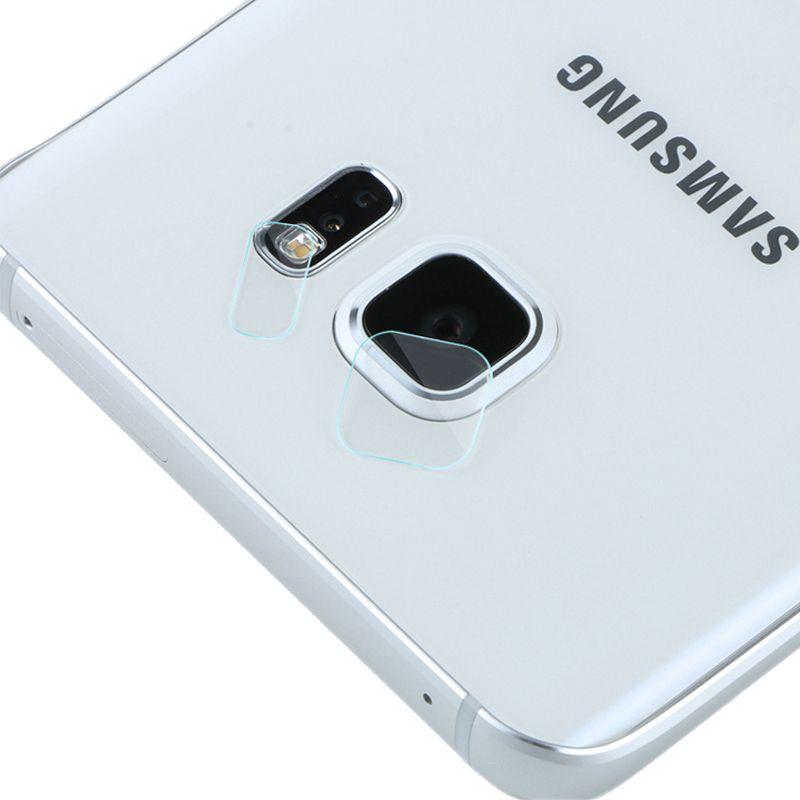 كامل Hd عدسة الكاميرا حامي الزجاج المقسى فيلم شفاف ل سامسونج غالاكسي S7 حافة غطاء سامسونج S6 حافة زائ Phone Bag Samsung Galaxy S7 Edge Mobile Phone Accessories