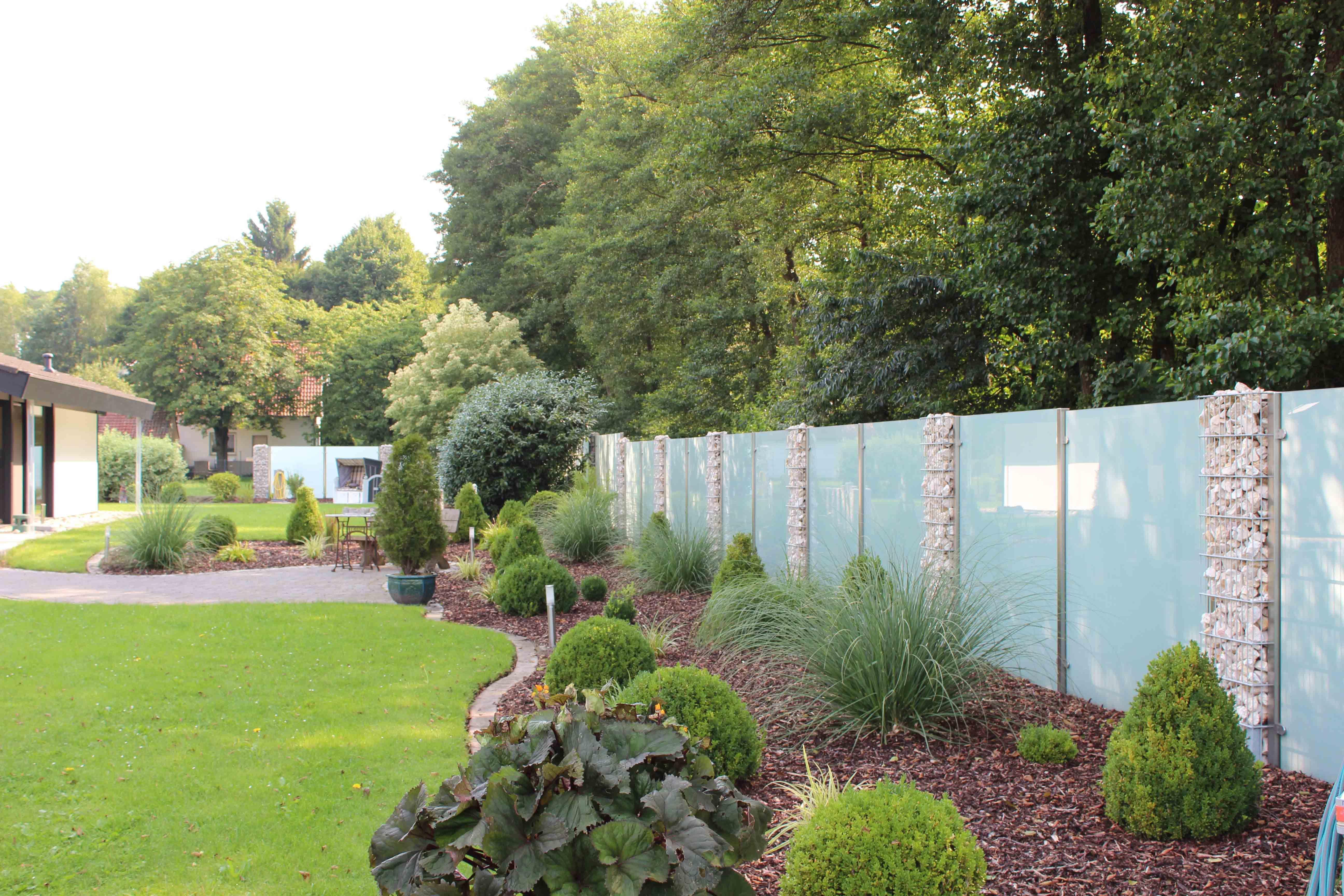 Sichtschutz Feng als Gartenzaun Sichtschutz
