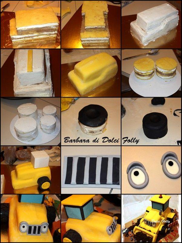 Immagine Traktor Kuchen Bagger Kuchen Bob Der Baumeister Kuchen
