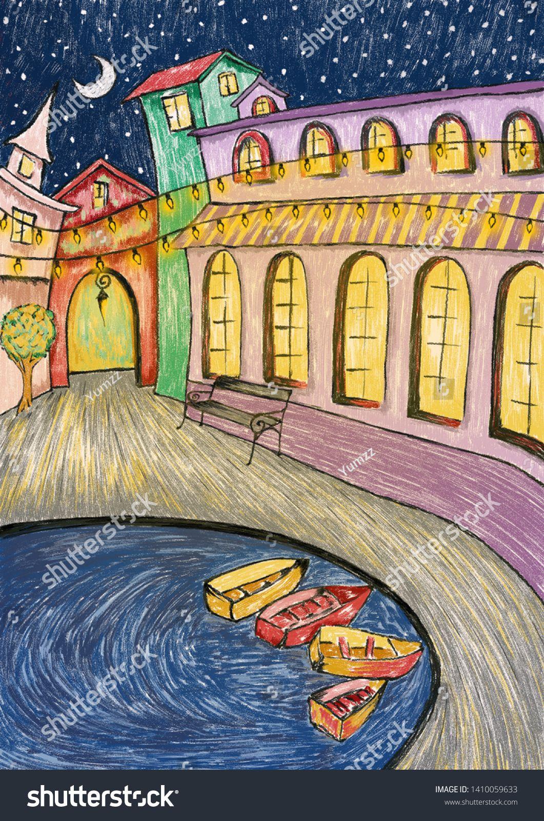 pursue play, kids art, illustration, colorful art work, digital art #Ad , #ad, #kids#art#pursue#play