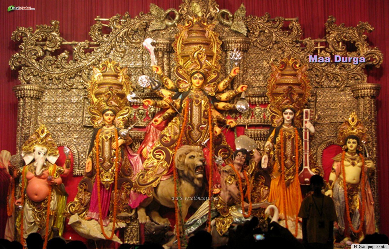Maa Durga Wallpaper Full Size Hd For Pc Maa Durga Hd Wallpaper Durga Puja Durga