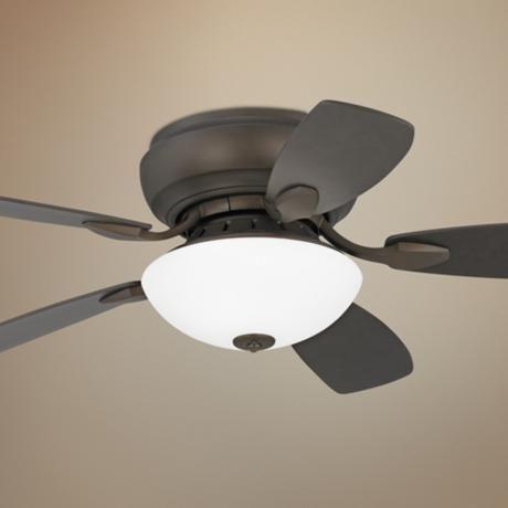 44 Casa Habitat Oil Rubbed Bronze Hugger Ceiling Fan 11 47