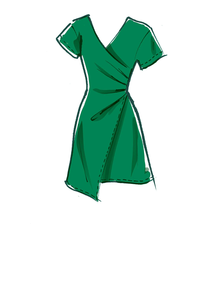 Photo of M8088   #GianaMcCalls – Misses' Dresses