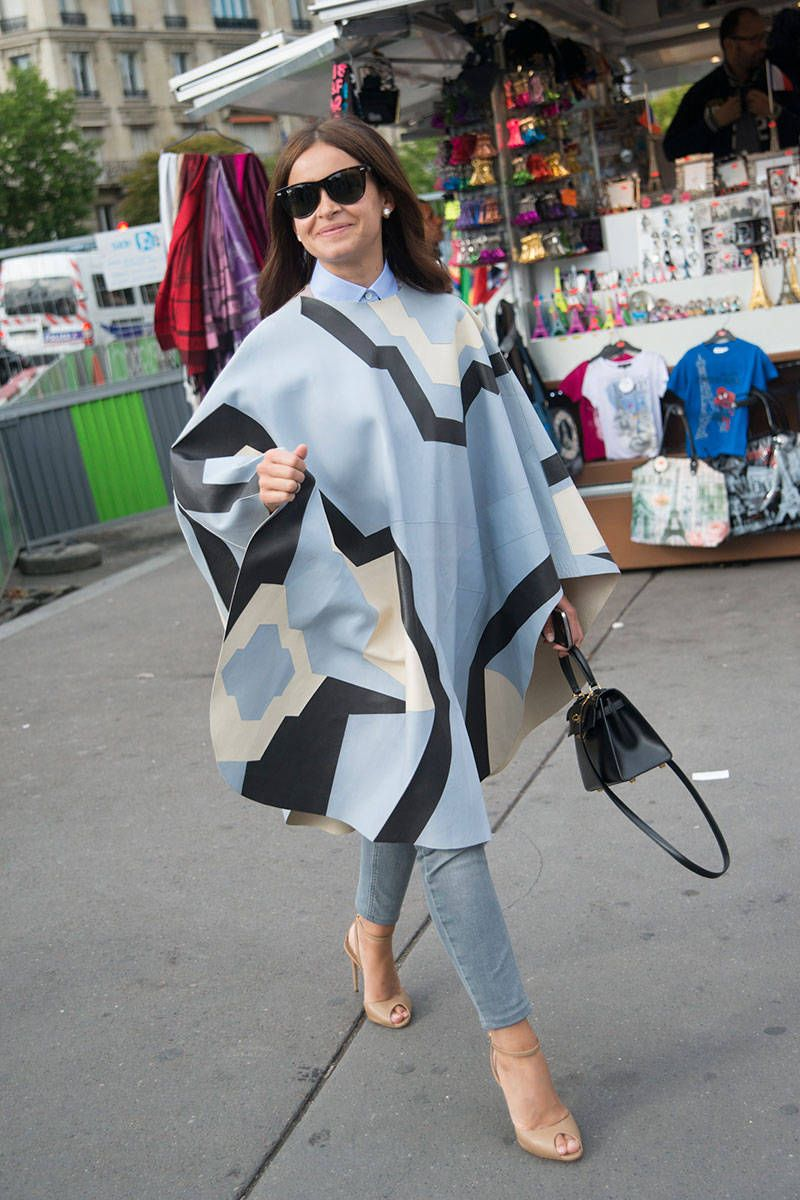 Summer to Fall Street Style Photos - Celebrity Street Style Photos - Elle